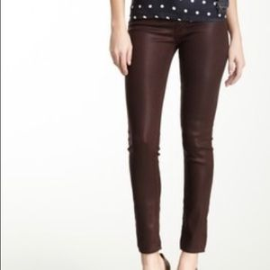 HUDSON dark brown KRISTA super skinny Jeans 28